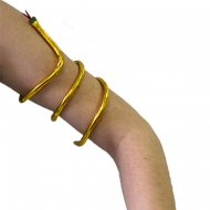 Bracelet Egyptien Serpent Doré