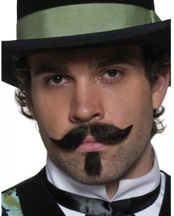 Moustache de joueur de saloon