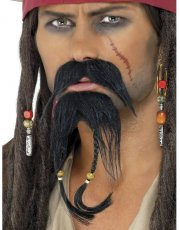 Barbe et Moustache Pirate