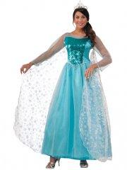 Déguisement Princesse Elsa - adulte Taille unique