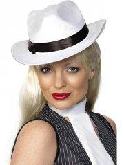 Chapeau de Gangster Blanc