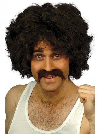 Set rétro Perruque et Moustache marathonien