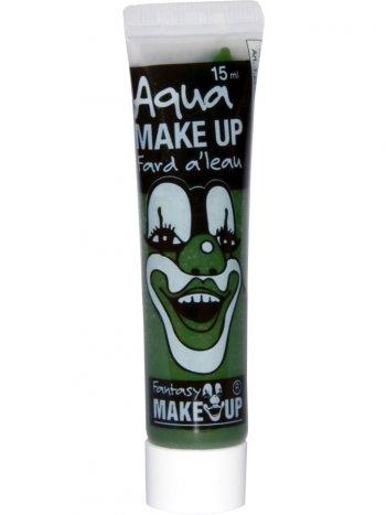 Tube Maquillage Aquacolor Vert - 15 ml