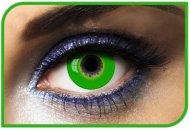 Lentilles fantaisie Vert - 1 an