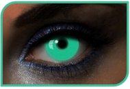 Lentilles Vertes Phosphorescentes - 1 an