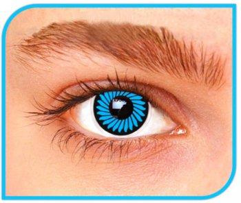 Lentilles Zoom Bleu - 1 mois