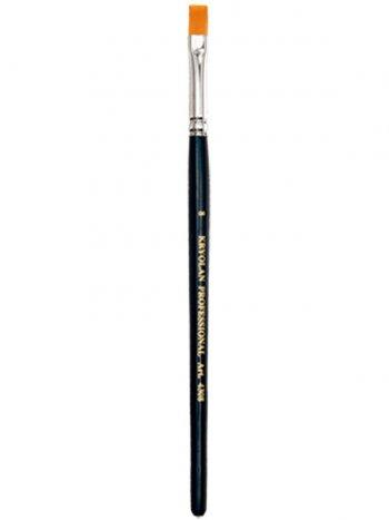 Pinceau Plat Poils Synthétique N8