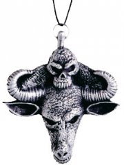 Collier Médaillon Satanique