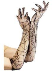 Longs gants Toile d'Araignée