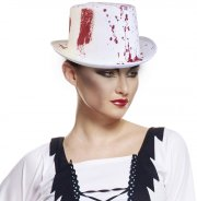 Chapeau Blanc et Sang
