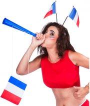 Trompe de Supporter avec Drapeau France