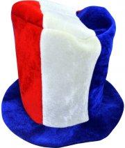 Chapeau Haut de Forme Tricolore