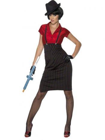 Déguisement 20 s Gangster Femme
