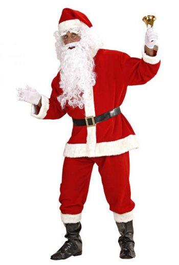 Déguisement de Père Noël avec Barbe