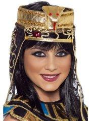 Coiffe égyptienne avec Serpent