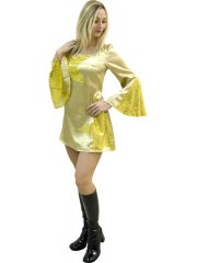 Robe Disco Queen Or
