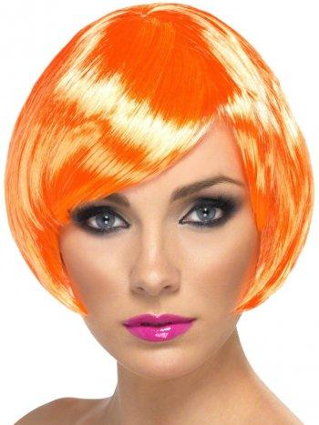 Perruque Sexy Babe Orange