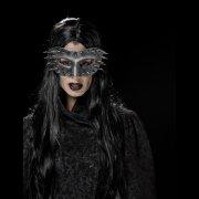Masque Loup à Clous Imitation Métal - PVC