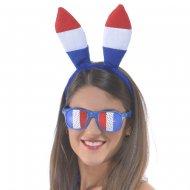 Serre-Tête Lapin Tricolore France