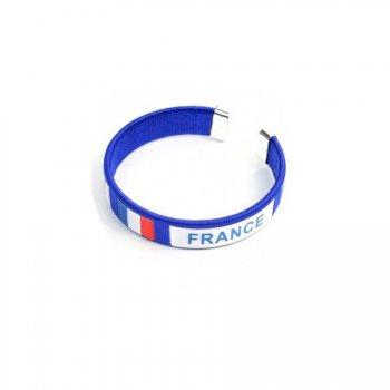 Bracelet Supporter France Bleu
