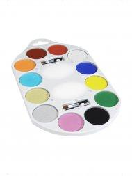 Set Maquillage 12 couleurs + Accessoires
