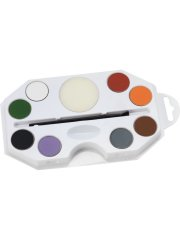 Set Maquillage 8 Couleurs Halloween