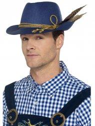 Chapeau Bavarois bleu