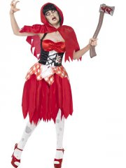 Déguisement  Chaperon Rouge Zombie Taille L