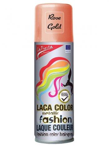 Laque Cheveux Couleur Rose Gold