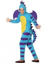 Déguisement Dragon Bleu Homme