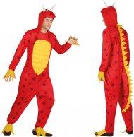 Déguisement Dragon Rouge Homme