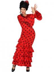 Déguisement Danseuse de Flamenco Rouge/Noir