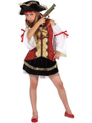 Déguisement de Miss Pirate Velours