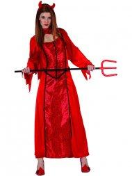 Déguisement de Démone Rouge