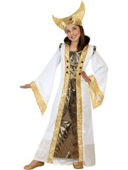 Déguisement de Reine Médiévale Or