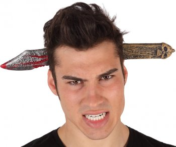 Serre-tête Couteau sanglant