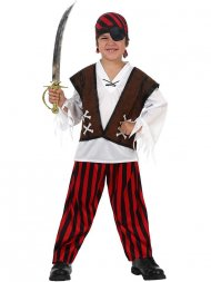 Déguisement de Capitaine Pirate John