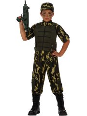 Déguisement de Militaire Commando