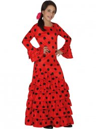 Déguisement Flamenco Rouge et Noir