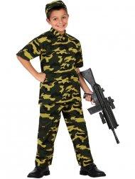 Déguisement de Militaire Camouflage Enfant