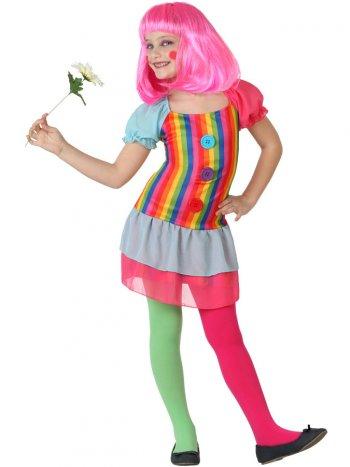 Déguisement de Clown Rainbow