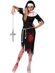 Déguisement de Nonne zombie