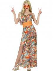 Déguisement Robe Hippie Classy Taille XL