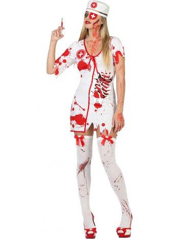 Déguisement d Infirmière zombie