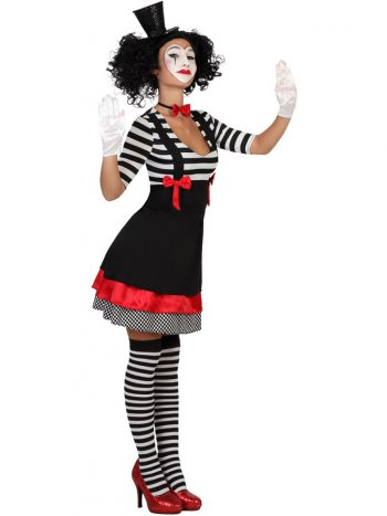 Déguisement Mime Femme