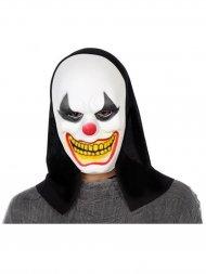 Masque Cagoule Clown Diabolique