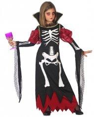 Déguisement Squelette Vampiresse