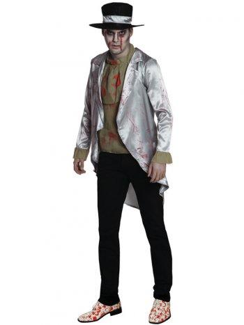 Déguisement Marié Zombie Satin