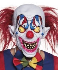 Masque Intégral Creepy Clown - Latex