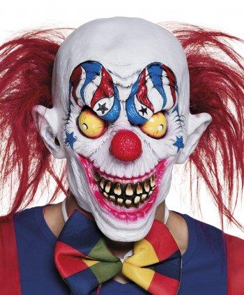 Masque Intégral Creepy Clown - Latex